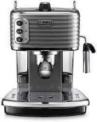 RRP £150 Boxed And Delonghi Scultura Espresso Cappuccino Coffee Machine