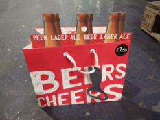 RRP £80 Box To Contain 80 Brand New Beer Bottle Bag Clip Strip'S (Appraisal Available Upon