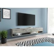 "RRP £200 Boxed Mercury Row Pineda 88"" Tv Stand (20132) (Appraisals Available On Request) (Pictures"