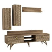 RRP £150 Boxed World Menagerie Renee 65' Entertainment Unit (17834) (Appraisals Available On