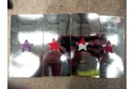 RRP £120 Boxed Dior Sample Pack Of 4 Dior Addict Stellar Shine Lip Shine To Include Shine In Dior,