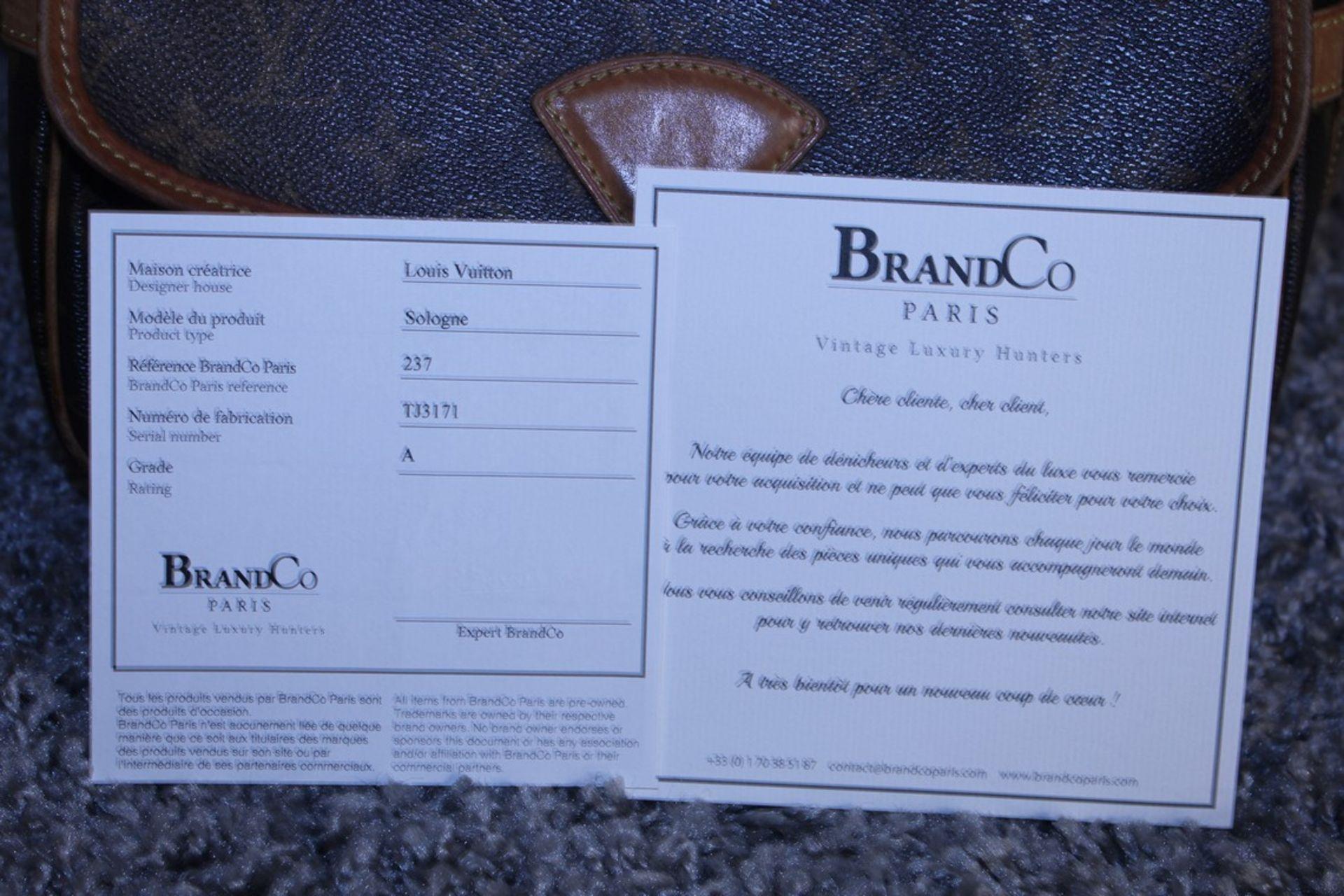 RRP £1,200 Louis Vuitton Solonge Shoulder Bag, Brown Monogram Coated Canvas, Vachetta Handles, ( - Image 4 of 4