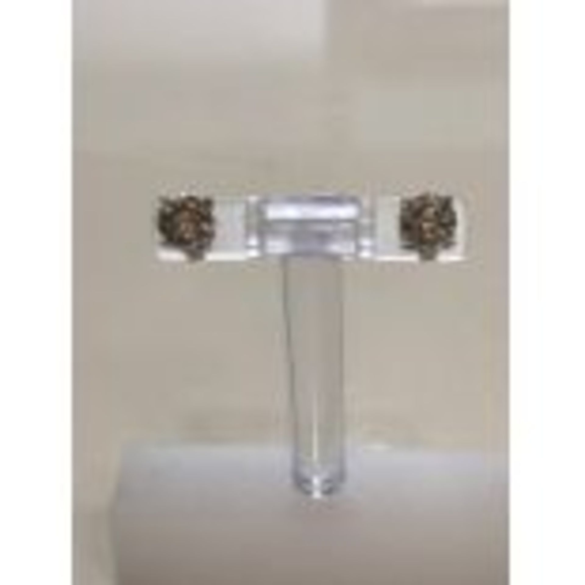 RRP £8,950 18 Carat White Gold Solitaire Diamond Solitaire Earrings, Total Stone Weight 2.06Ct, K - Image 2 of 2