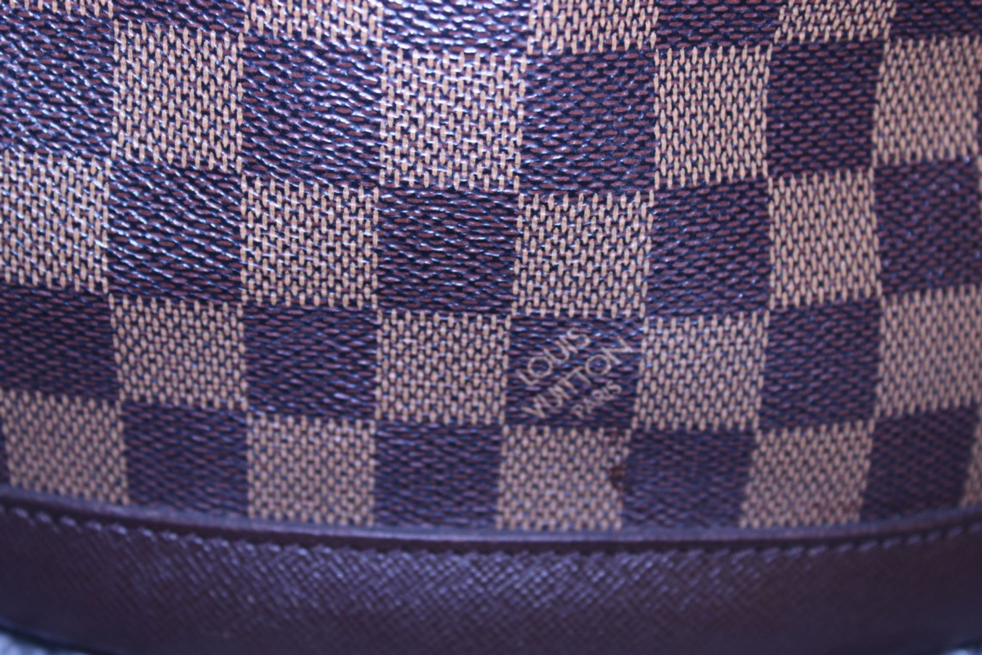 RRP £1,200 Louis Vuitton Marais Handbag, Brown Coated Canvas 23X24X16Cm (Production Code Sp0013) - Image 3 of 5