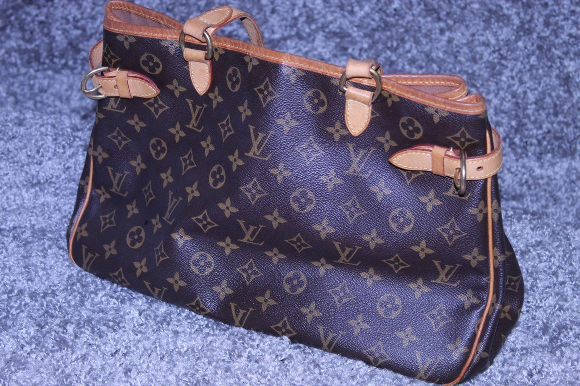 RRP £1,200 Louis Vuitton Batignolles Horizontal Shoulder Bag, Brown Monogram Canvas, Vachetta - Image 3 of 4