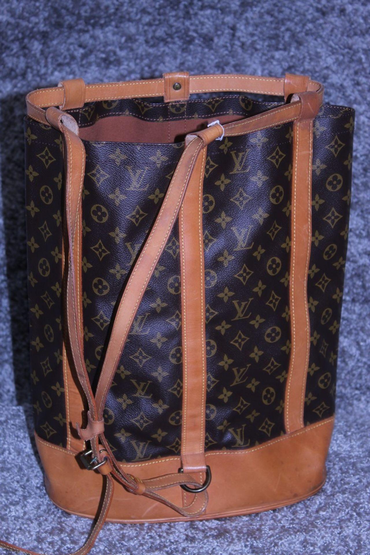 RRP £1,800 Louis Vuitton Randonnee Shoulder Bag, Brown Monogram Coated Canvas, Vachetta Handles, ( - Image 2 of 4