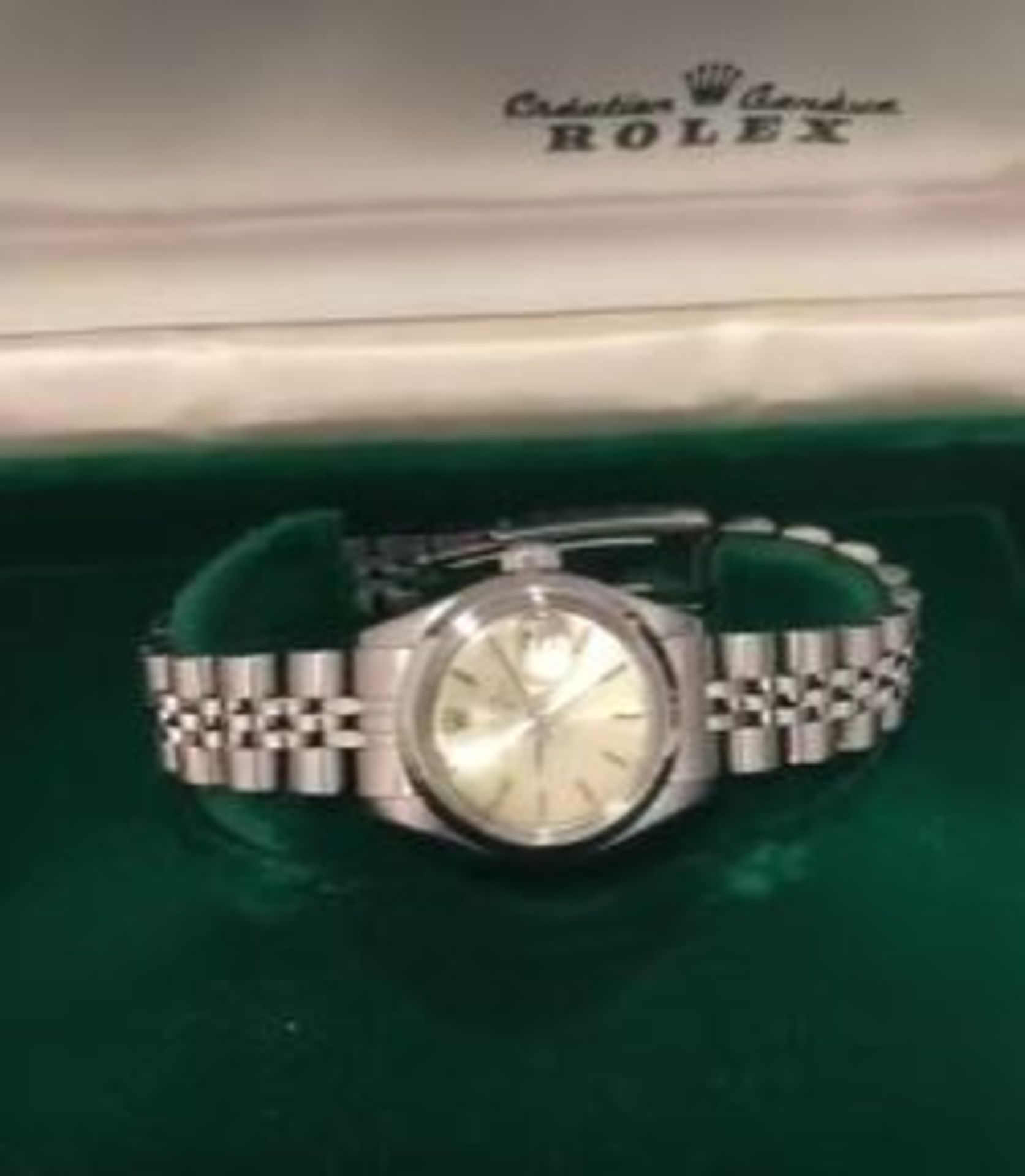 RRP £7,500 Rolex Ladies Date Just Stainless Steel Case & Jubilee Bracelet. Full Bracelet Original