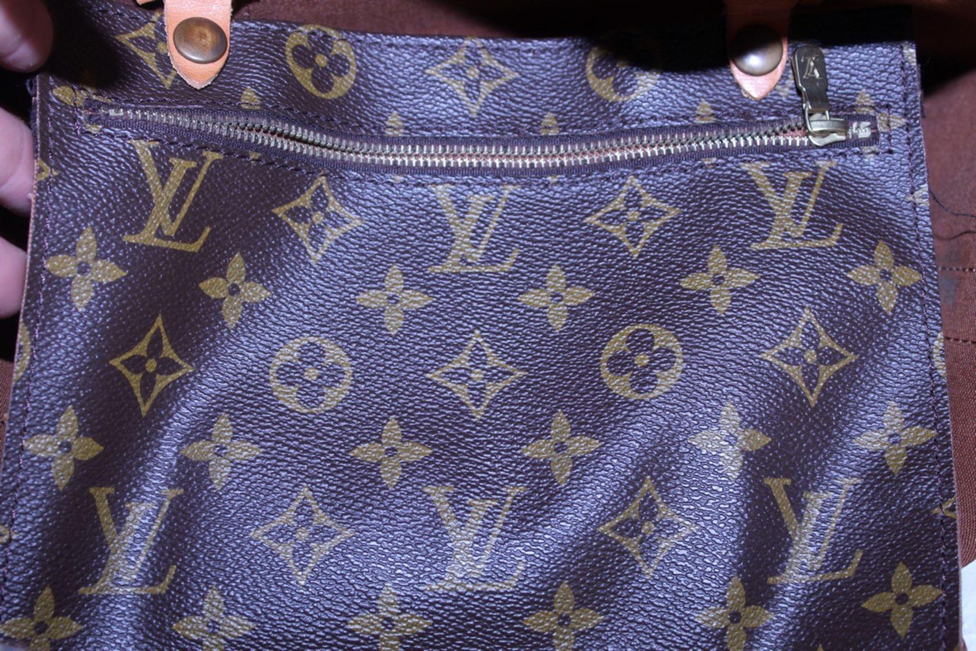 RRP £1,800 Louis Vuitton Randonnee Shoulder Bag, Brown Monogram Coated Canvas, Vachetta Handles, ( - Image 3 of 4