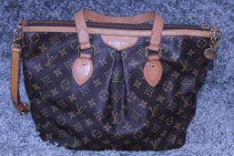 RRP £1,900 Louis Vuitton Saumur Shoulder Bag, Brown Monogram Coated Canvas 25X21X7Cm Vachetta