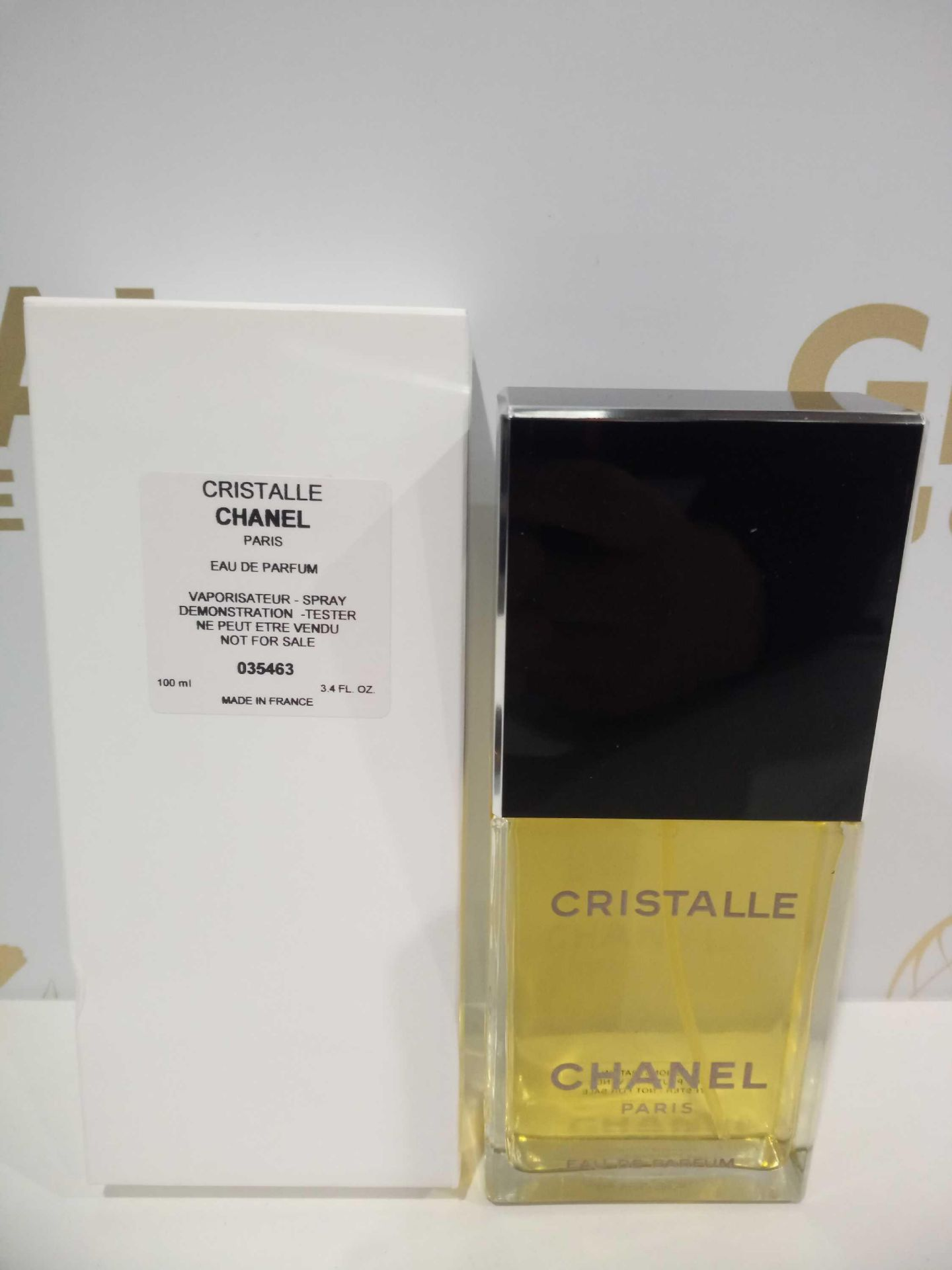 RRP £90 Boxed Brand New Full Tester Bottle Of Chanel Paris Cristalle 100Ml Eau De Parfum