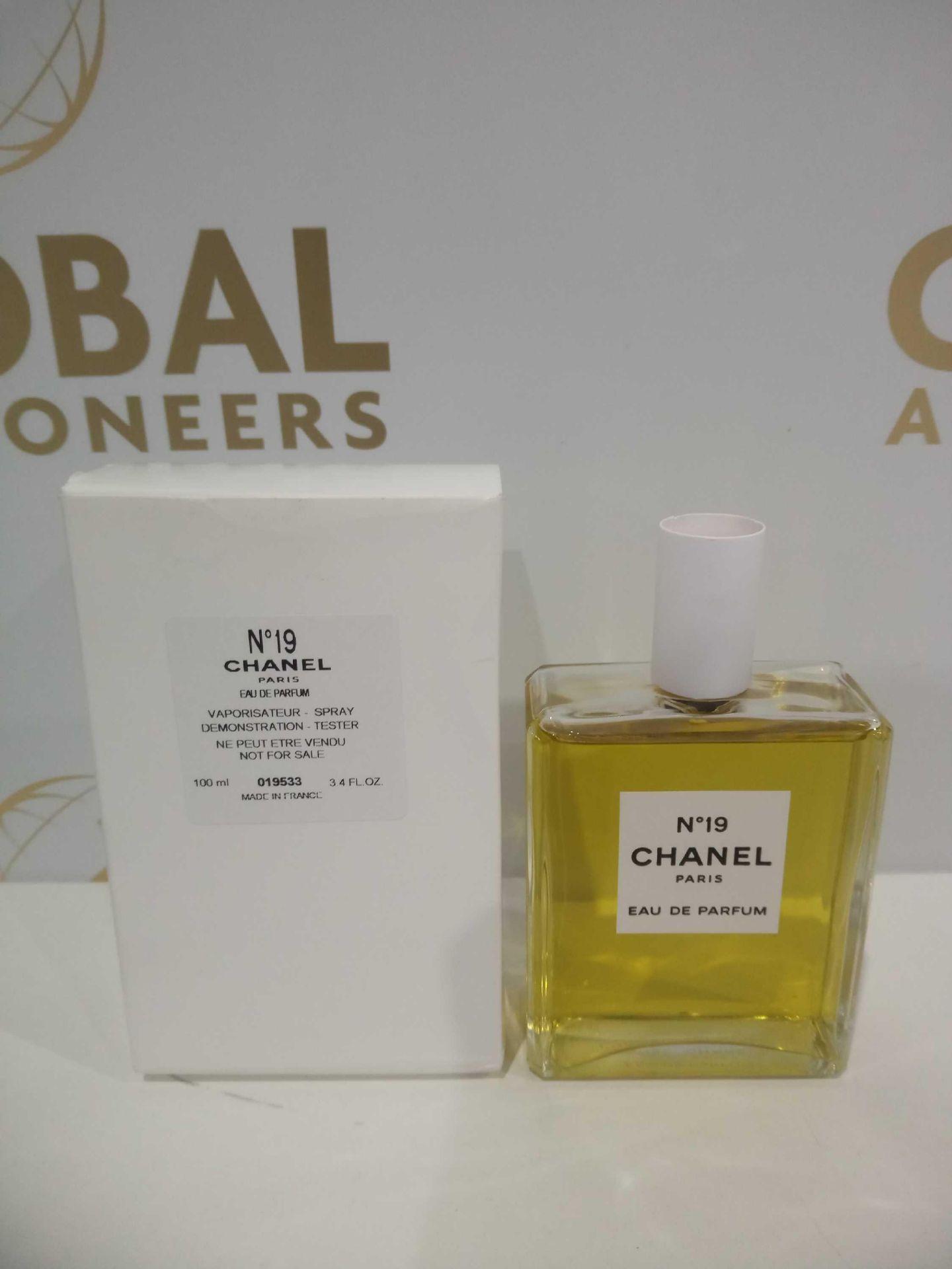 RRP £115 Boxed Brand New Full Tester Bottle Of No19 Chanel Paris 100Ml Eau De Parfum