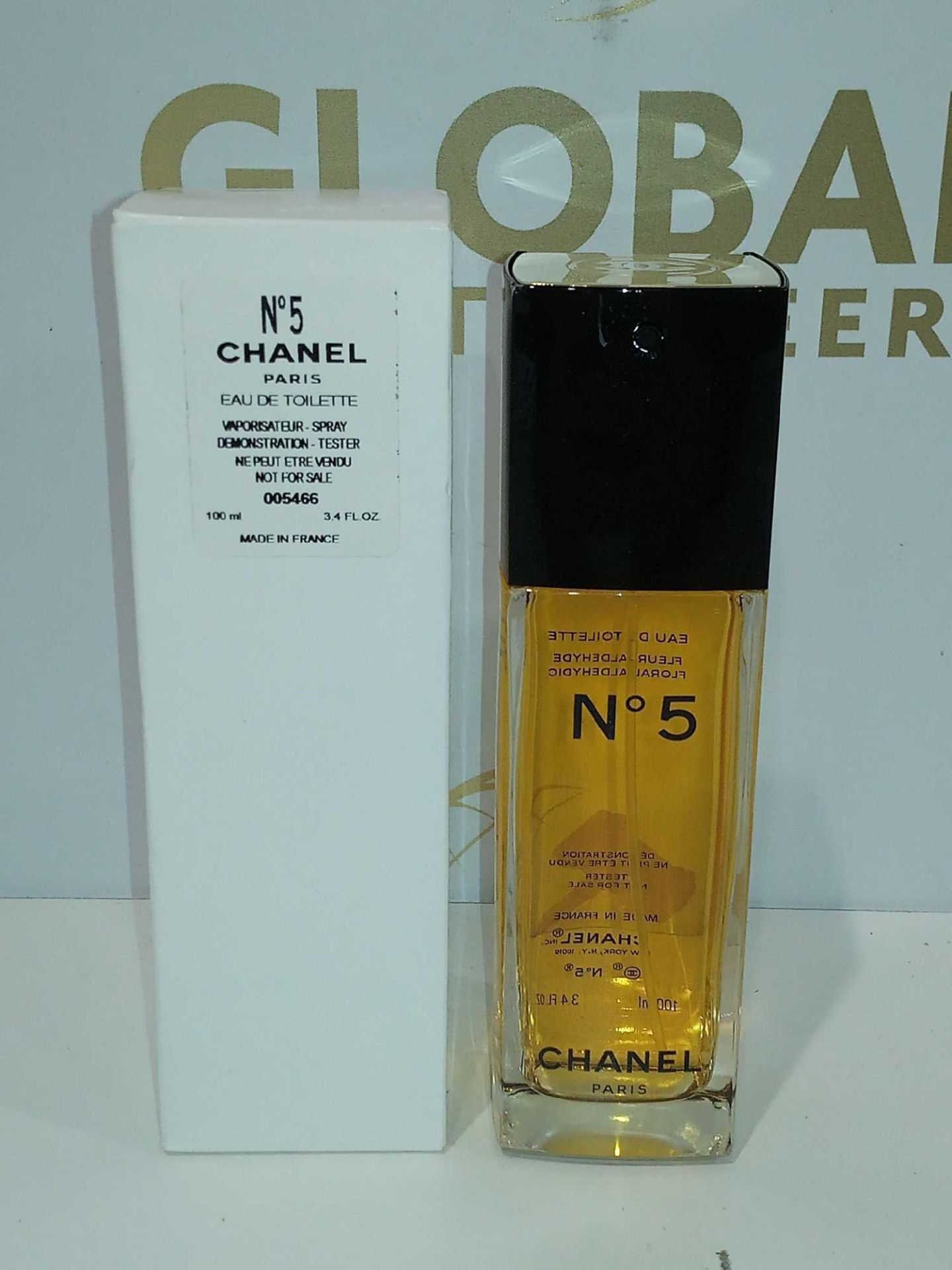 RRP £95 Boxed Brand New Full Tester Bottle Of Chanel No5 Paris 100Ml Eau De Toilette