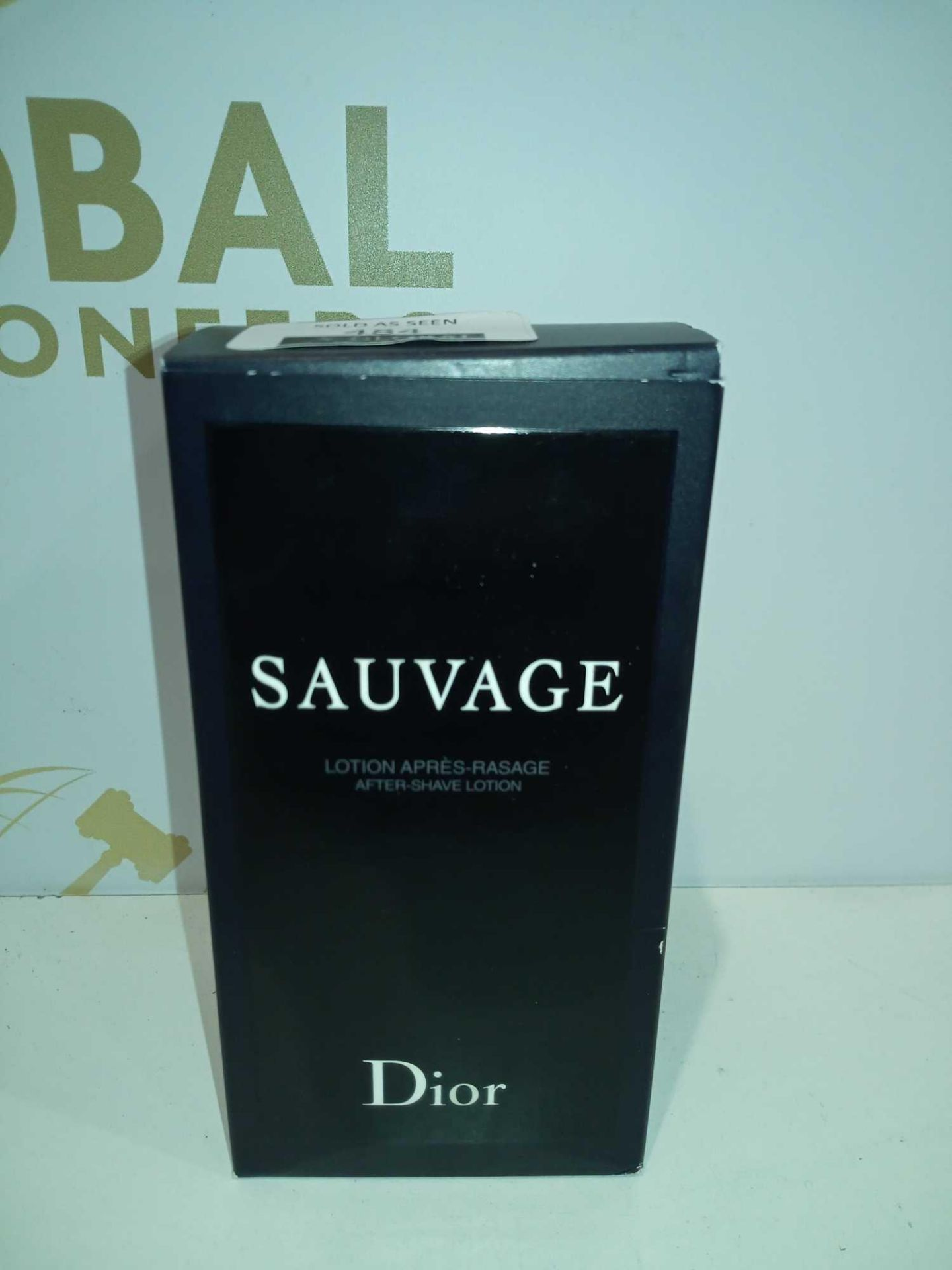 RRP £50 Boxed Bottle Of Sauvage Dior 100Ml After Shave Lotion For Men