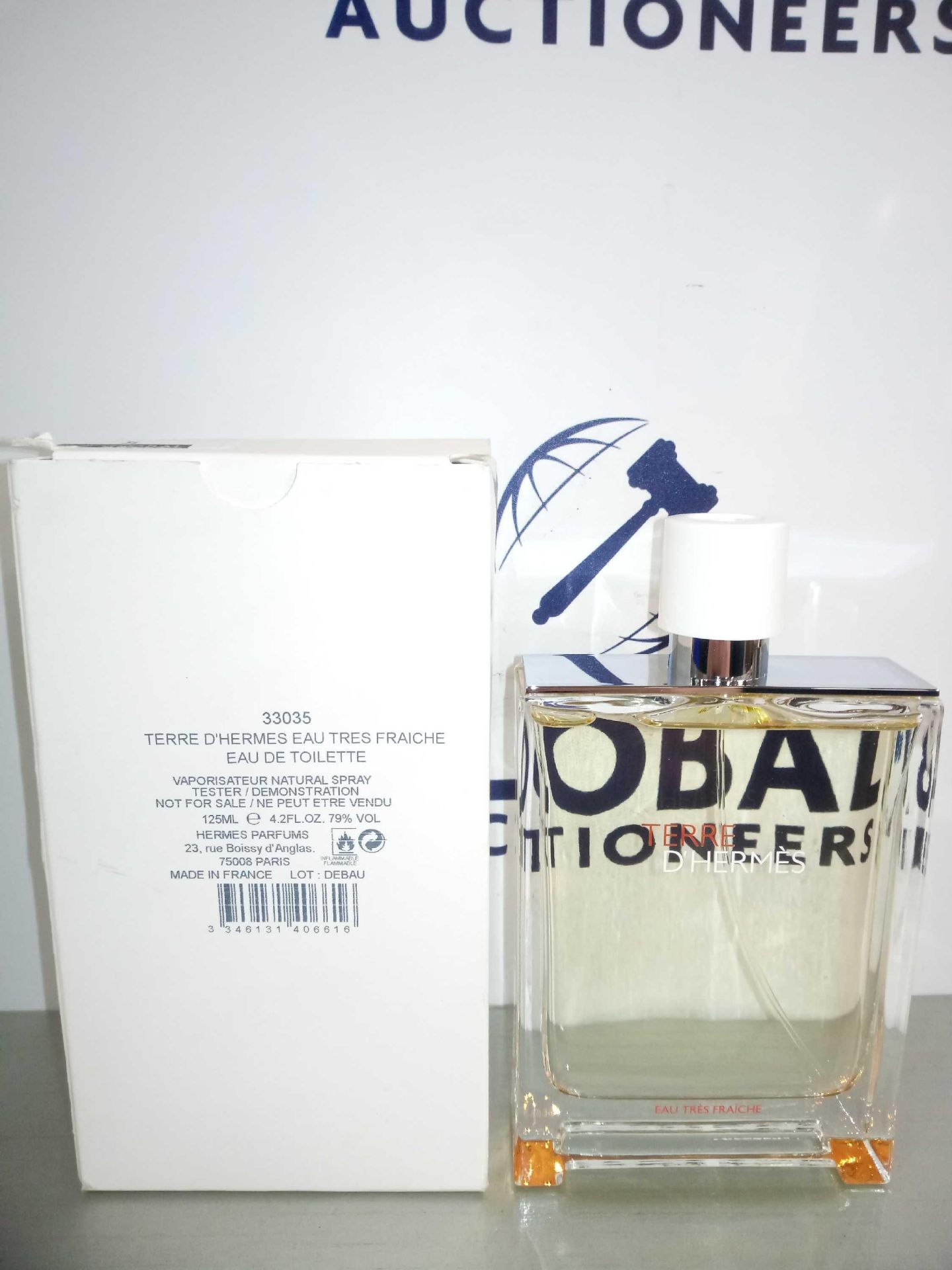 RRP £90 Boxed Brand New Full Tester Bottle Of Terre D'Hermes 125Ml Eau De Toilette