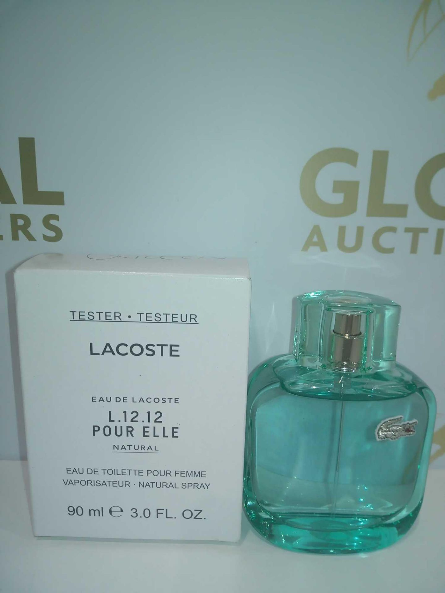 RRP £60 Boxed Brand New Full Tester Bottle Of Lacoste Green 90Ml Eau De Toilette Pour Femme