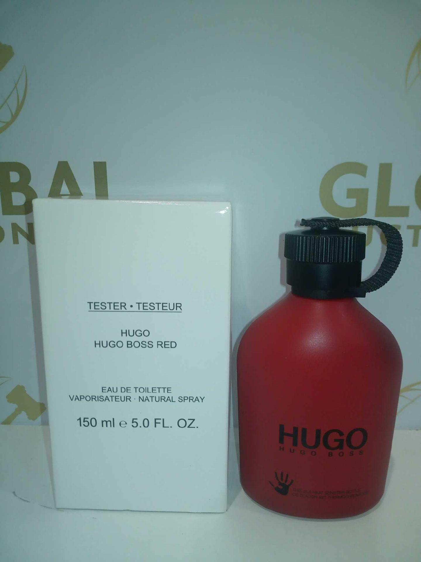 RRP £60 Boxed Brand New Full Tester Bottle Of Hugo Boss Hugo Red 150Ml Eau De Toilette