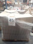 Pallet To Contain A Large Assortment Of John Lewis Blinds And Curtains To Include Grey Curtains,