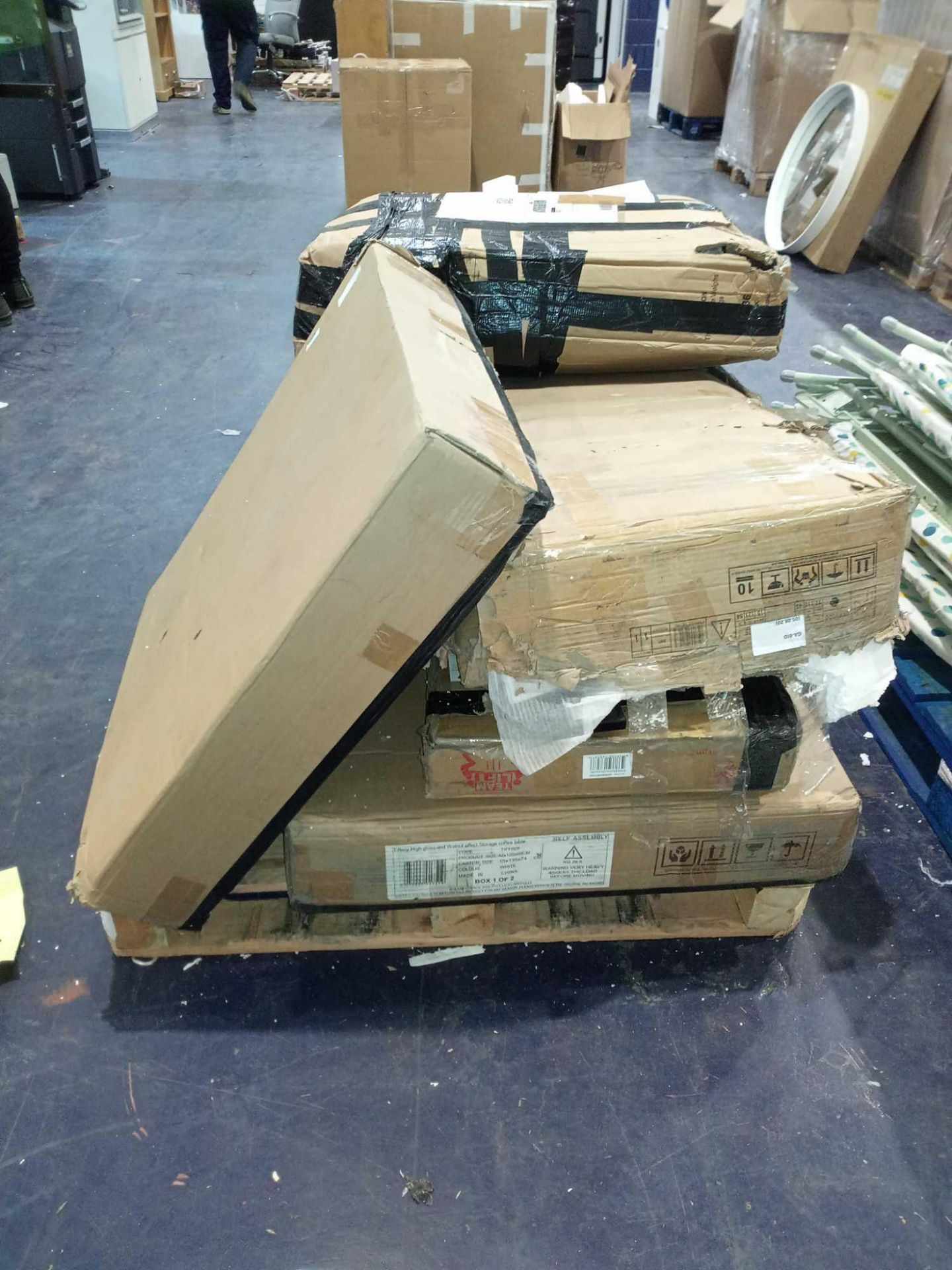 Pallet To Contain 8 Assorted Boxed Flat Pack Furniture Part Lots (Appraisals Available On - Image 2 of 2