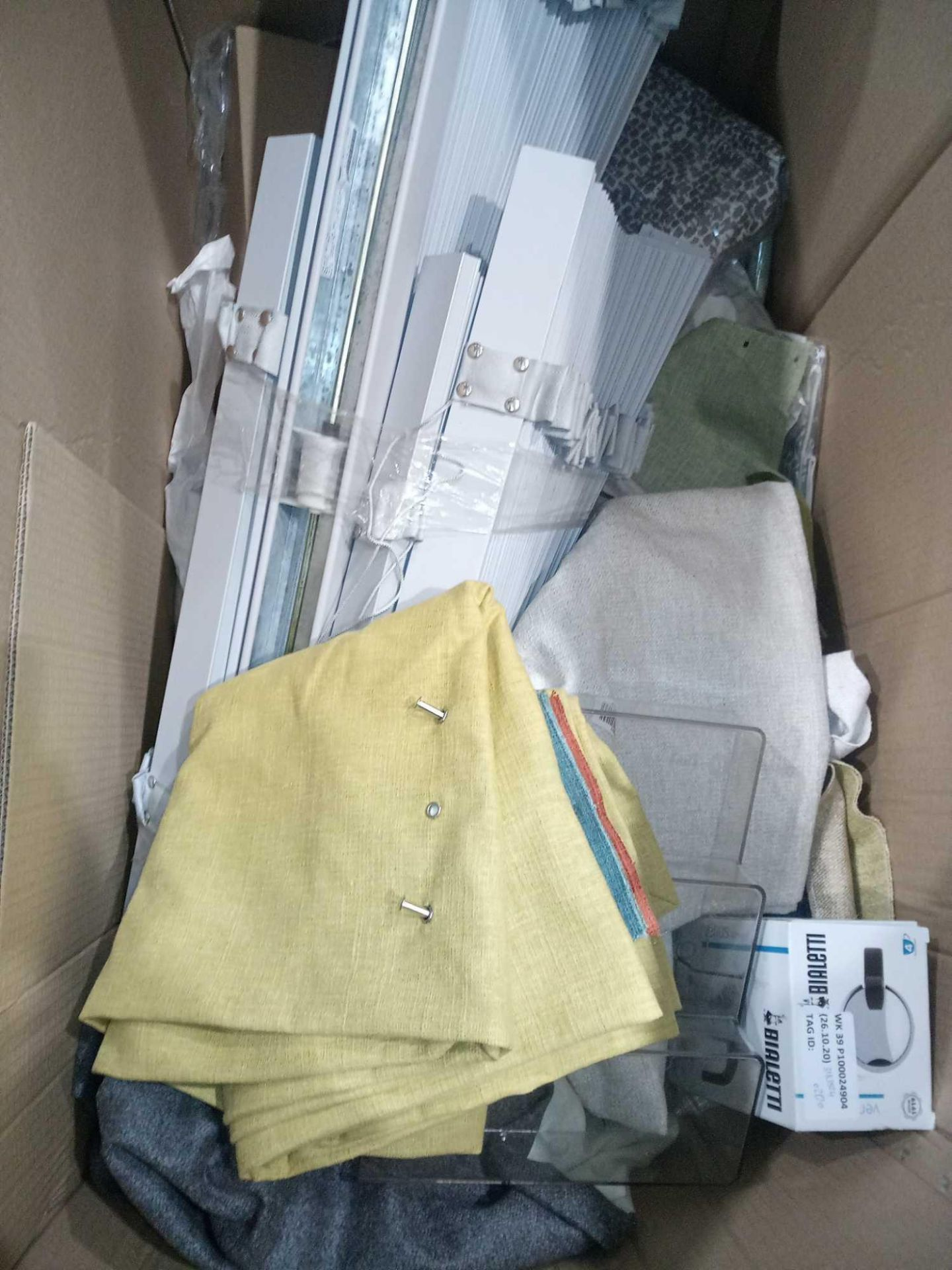 Pallet To Contain A Large Assortment Of John Lewis Blinds And Curtains To Include Grey Curtains, - Image 2 of 5