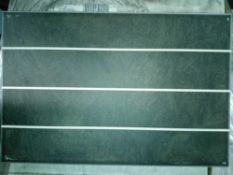 RRP £560 Pallet To Contain 56 Brand New Packs Of 15 Johnson's Bslt1E Basalt 1 Way Scored Tiles (