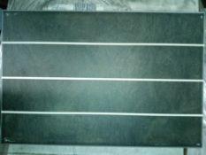 RRP £660 Pallet To Contain 66 Brand New Packs Of 15 Johnson's Bslt1E Basalt 1 Way Scored Tiles (