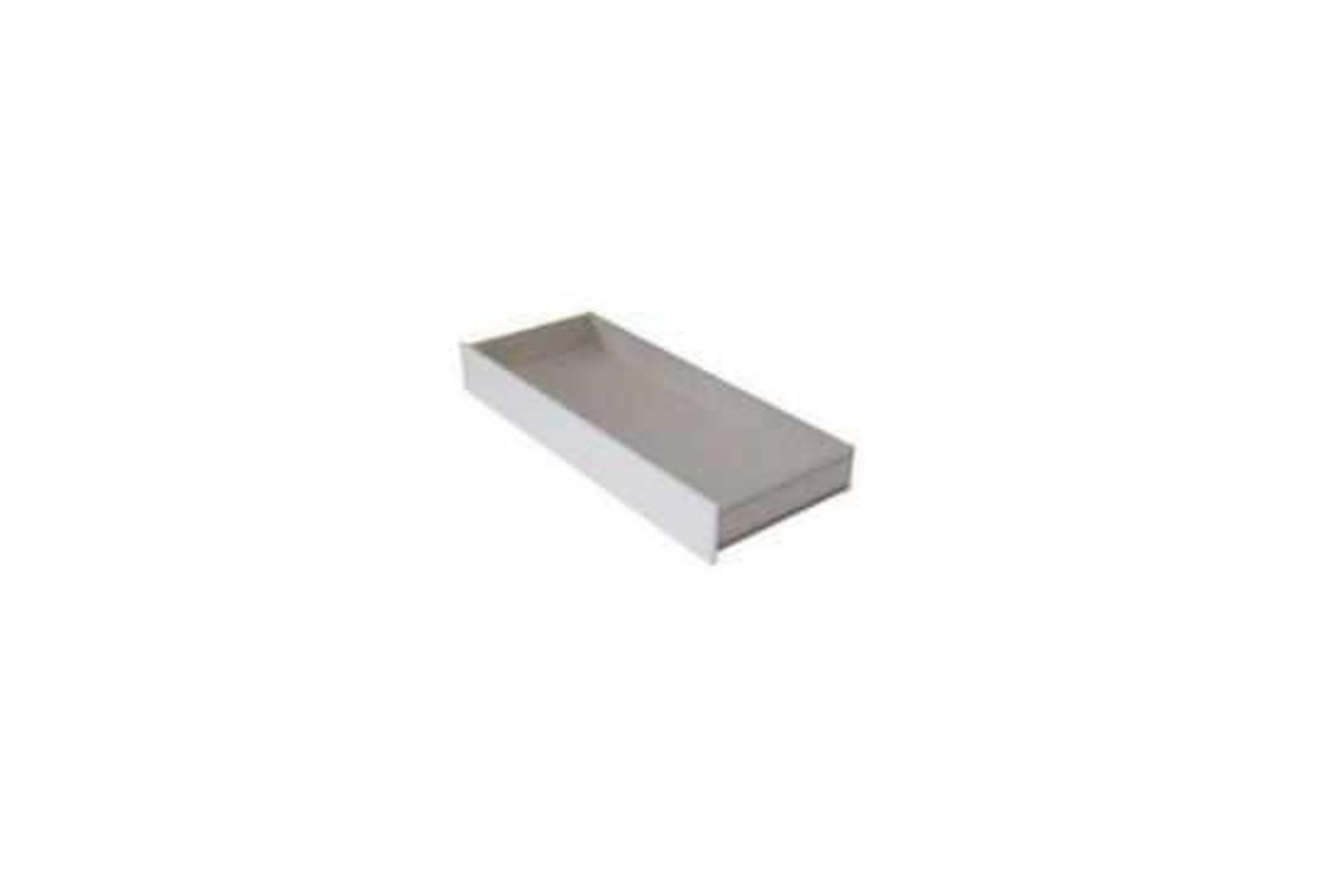 RRP £49 Boxed 140X70Cm Cot Bed Drawer