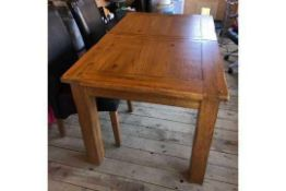 RRP £599 Sourced From Harvey's Furniture Boxed Toulouse Extending Dining Table