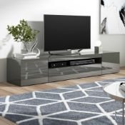 "RRP £200 Boxed Zip Code Design Mariella 78"" Tv Stand"
