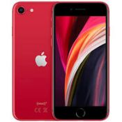 RRP £469 Apple iPhone SE2 128GB Red, Grade A
