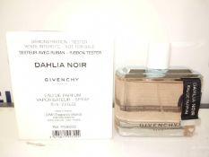 RRP £80 Boxed Brand New Full Tester Bottle Of Givenchy Dahlia Noir 75Ml Paris Eau De Parfum