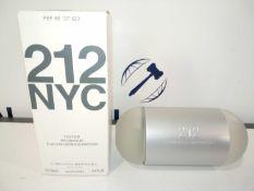 RRP £40 Boxed Brand New Full Tester Bottle Of Carolina Herrera 212 Sexy Eau De Parfum
