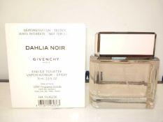 RRP £70 Boxed Brand New Full Tester Bottle Of Givenchy Dahlia Noir 75Ml Eau De Toilette