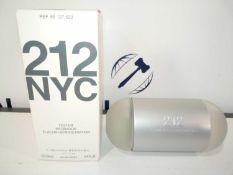 RRP £35 Boxed Brand New Full Tester Bottle Of Carolina Herrera 212 Nyc Eau De Toilette