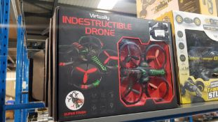11 x VIRTUALLY INDESTRUCTIBLE DRONE
