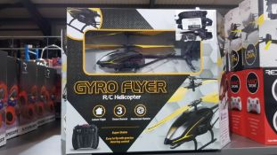 10 X RED5 GYRO FLYER RC HELICOPTER