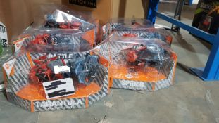7 X HEXBUG BATTLEGROUND (TARANTULA / SPIDER)