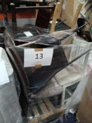 Pallet To Contain 7 Assorted High End Designer Harvey'S Dining Chairs