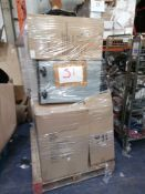 Pallet To Contain 10 Assorted John Lewis And Partners Pedal Push Bins Box And Unboxed