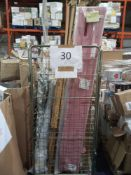 Cage To Contain A Large Assortment Of John Lewis Roller Blind Sets