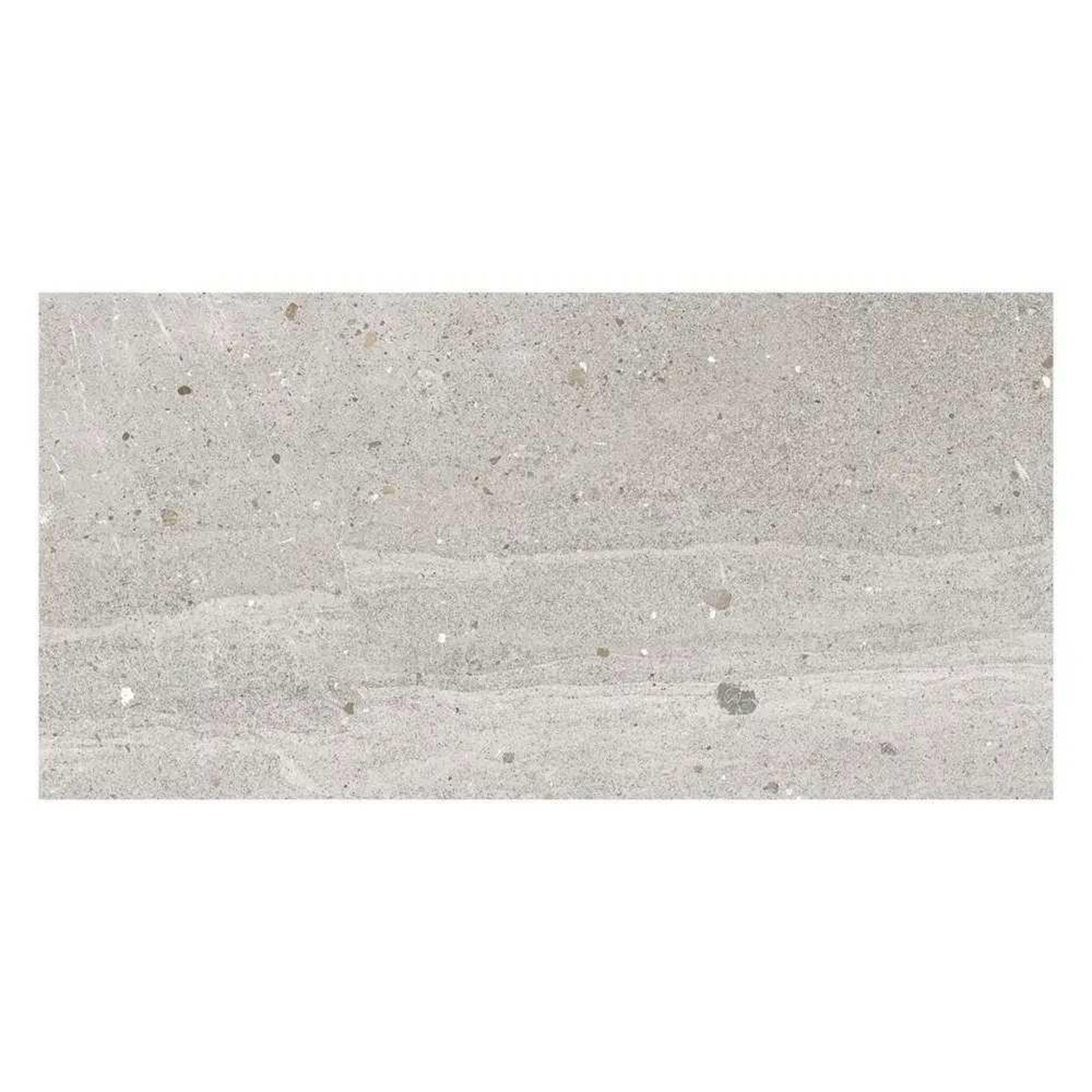 RRP £1400 Pallet To Contain 40 Brand New Packs Of 5 Johnson's Cong2A Classic Grey Matt Tiles (