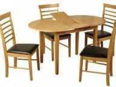 RRP £230 Boxed Three Posts Hanover Butterfly Table