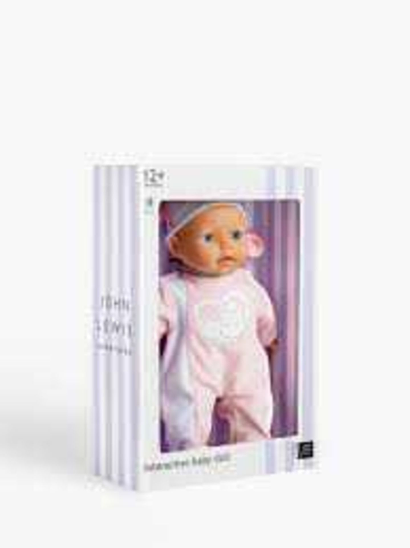RRP £30 Each Assorted Boxed John Lewis Girls Toys To Include Interactive Baby Doll Wooden Rocking Cr - Image 3 of 3