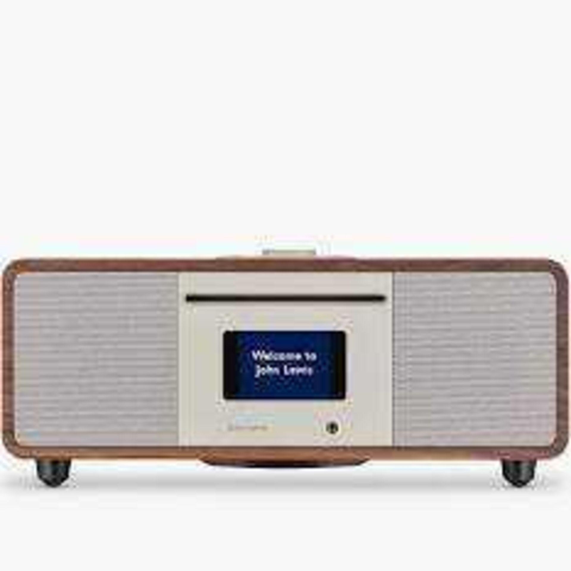 RRP £200 Boxed John Lewis Cello Hi-Fi Music System With Dab Fm Internet Radio