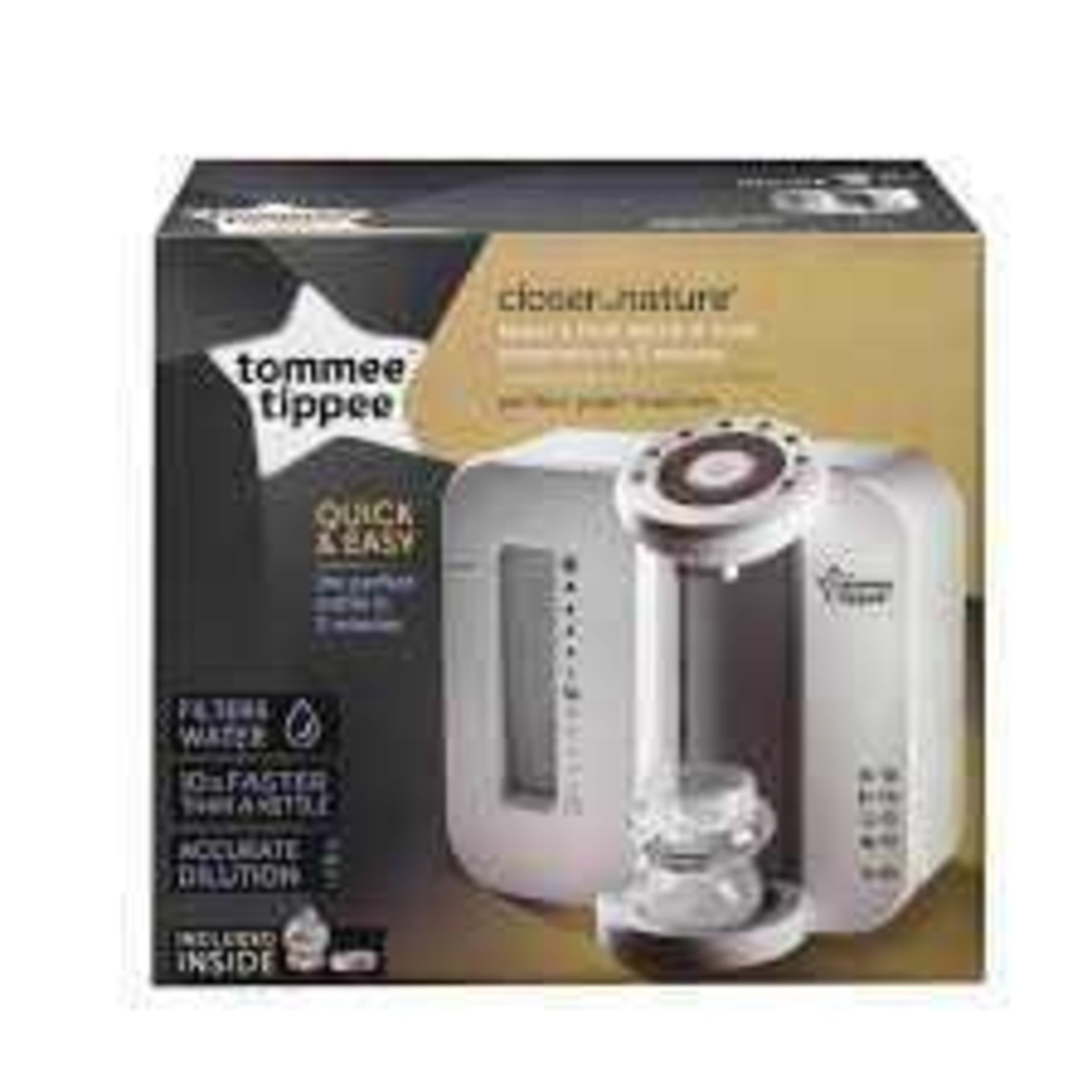 RRP £80 Boxed Tommee Tippee Closer To Nature Perfect Prep Machine