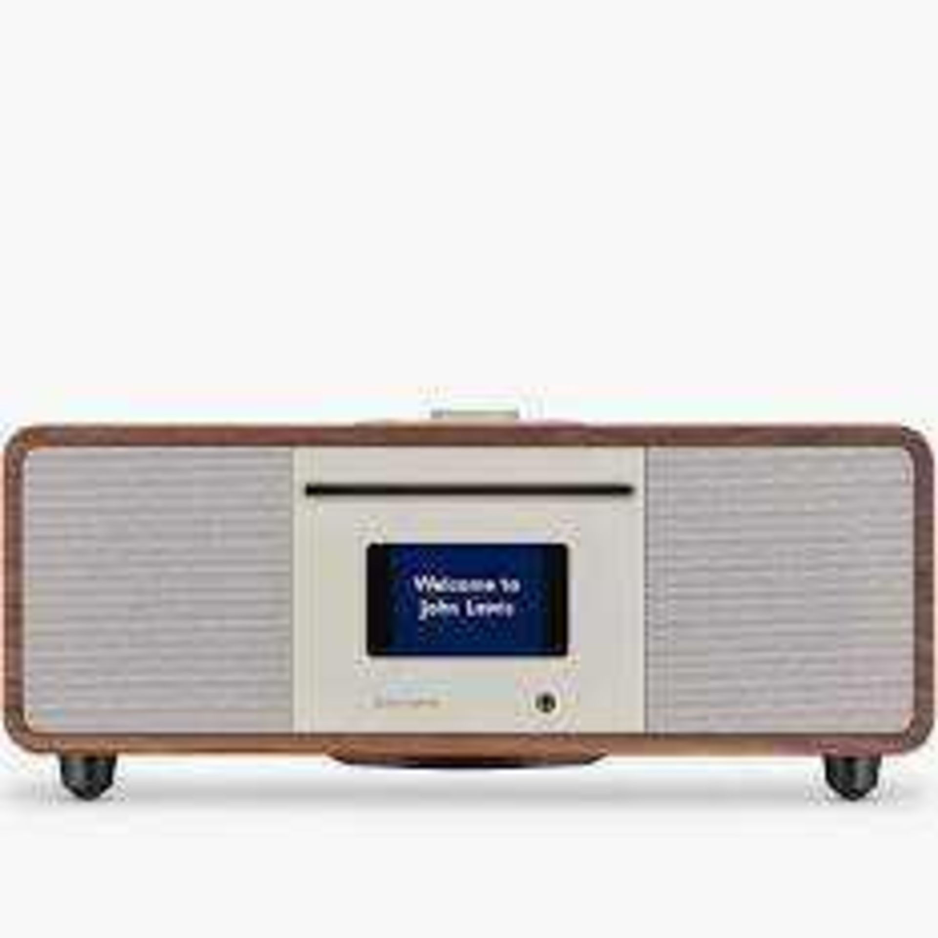 RRP £200 Boxed John Lewis Cello Hi-Fi Music System With Dab Fm Internet Radio