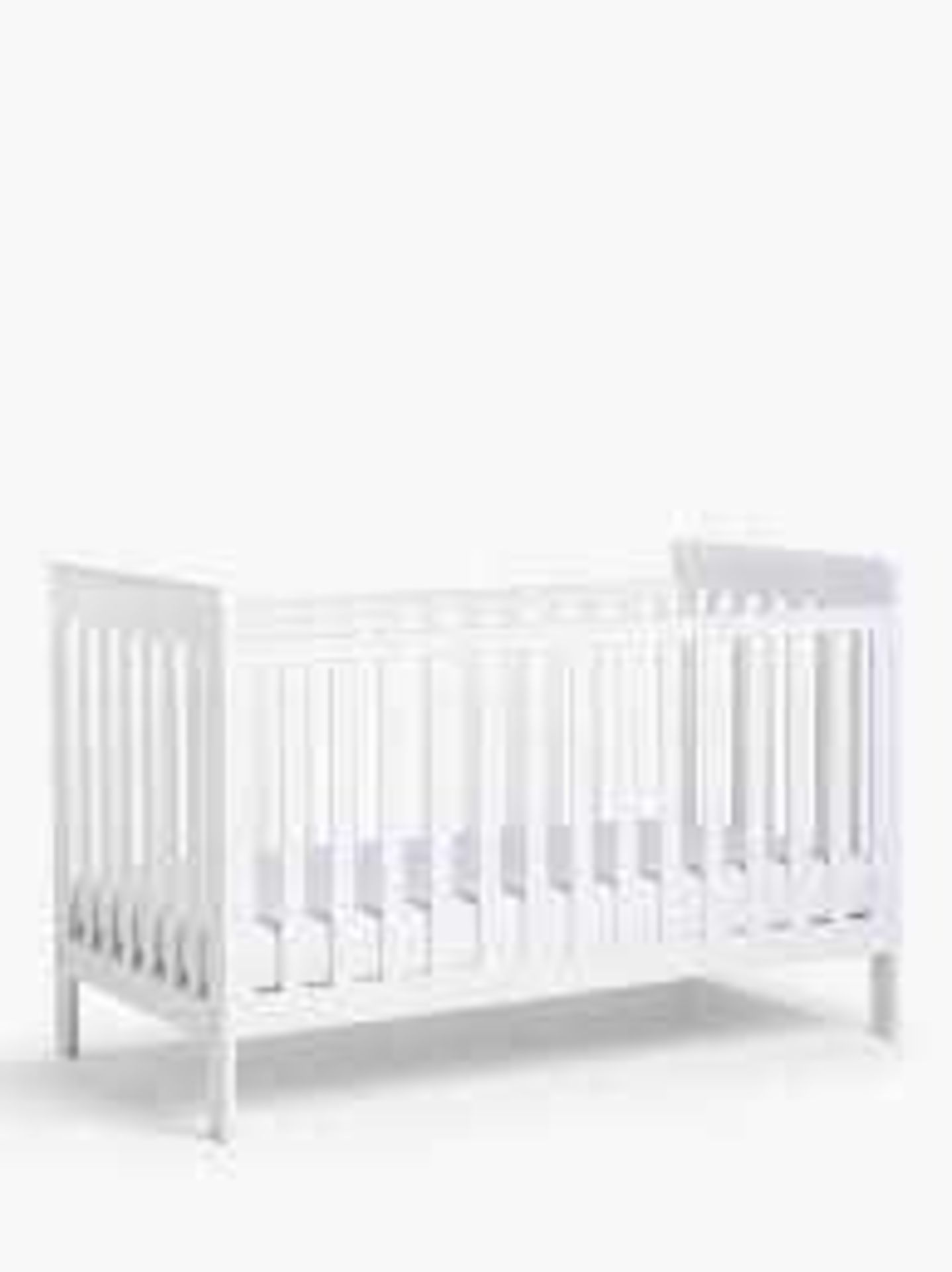 RRP £250 When Complete Boxed John Lewis Charlotte Cot Bed (Part Lot Only)