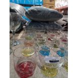 RRP £10 Each Lav Designer Dessert Bowls And Whiskey Spirit Tumblers Glassware In Assorted Colours