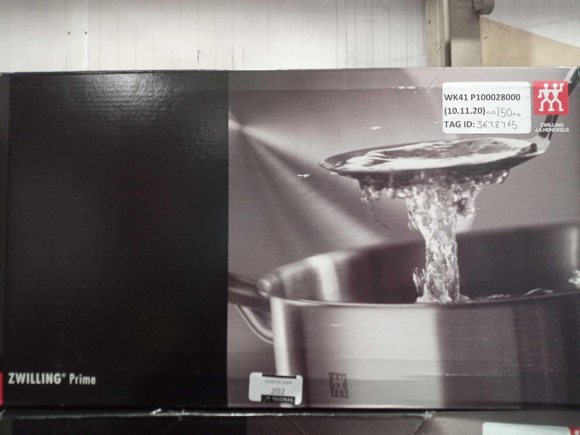 RRP £150 Boxed Zwilling Prime Saucepan