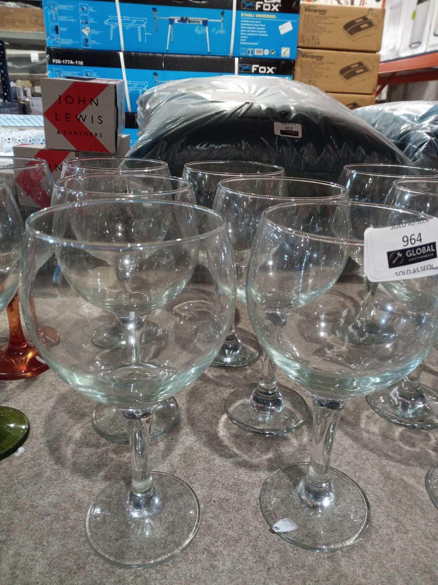 RRP £10 Each Designer Lav Glassware Large Wine Glasses
