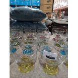 RRP £10 Each Lav Designer Dessert Bowl Glassware In Assorted Colours